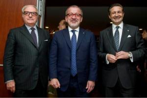 Achille Colombo Clerici, Roberto Maroni, Massimo Baggi