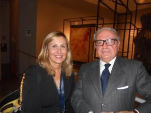 Achille Colombo Clerici con il Vice Direttore dell'Agenzia delle Entrate Gabriella Alemanno