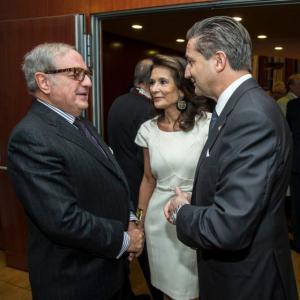 Achille Colombo Clerici con Patrizia Signorini e Massimo Baggi