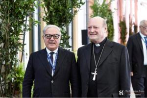 Achille Colombo Clerici con Gianfranco Ravasi