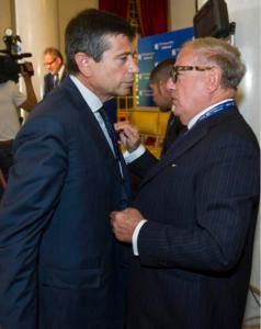 Achille Colombo Clerici con Maurizio Lupi 2