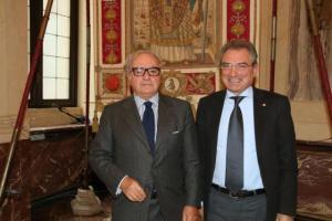 Achille Colombo Clerici e Camillo De Milato