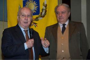 Achille Colombo Clerici con Carlo Tognoli