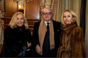 Achille, Giovanna e Giulia Colombo Clerici
