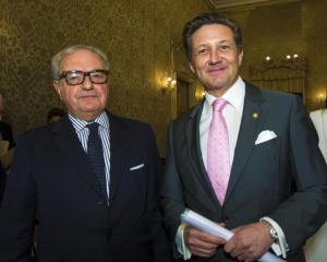Colombo Clerici con Massimo Baggi