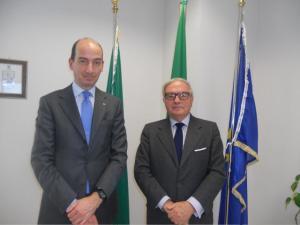Giorgio Spaziani Testa e Achille Colombo Clerici