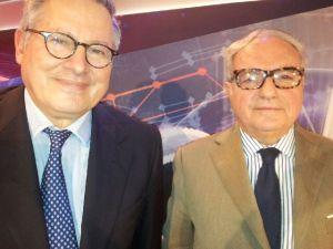 Achille Colombo Clerici con Paolo Liguori 2