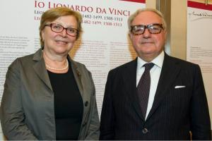 Daniela Ferrari con Achille Colombo Clerici