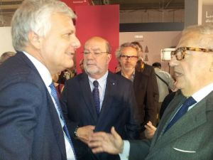 Achille Colombo Clerici con Gian Luca Galletti