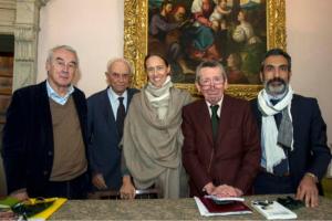 Giulio Giorello, Giuseppe e Margherita Barbiano di Belgiojoso, Sergio Romano, Giorgio Metta