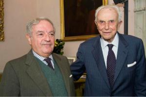 Giuseppe Barbiano di Belgioioso con Achille Colombo Clerici 2
