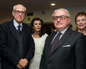Prefetto Francesco Paolo Tronca, Patrizia Signorini, Achille Colombo Clerici, Claudia Buccellati