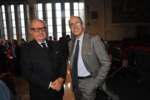 Achille Colombo Clerici con Giovanni Azzone