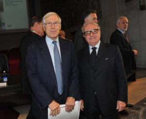 Achille Colombo Clerici con Remo Danovi