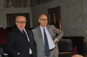Achille Combo Clerici con Giovanni Azzone