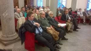 Paolo Righi, Achille Colombo Clerici, Renzo Gardella al Convegno di Torino 4.11.2015