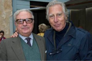 Achille Colombo Clerici con Franco Albini