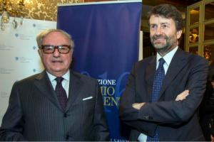 Achille Colombo Clerici con il Ministro Dario Franceschini