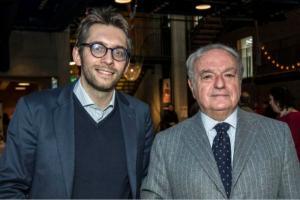 Achille Colombo Clerici con l'assessore Pierfrancesco Maran