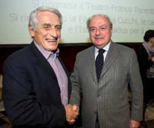 Achille Colombo Clerici e Alberto Martinelli