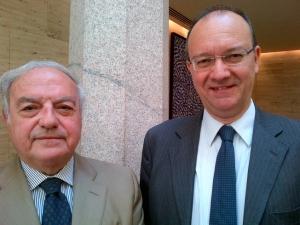 Colombo Clerici con Giuseppe Valditara (2)