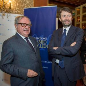 Excellent 2016 Achille Colombo Clerici con il Ministro Franceschini
