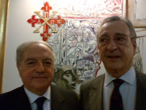 Achille Colombo Clerici con Diego Vargas Machuca