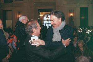 Achille Colombo Clerici con Giangiacomo Schiavi 3