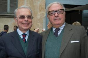 Achille Colombo Clerici e Gianni Verga