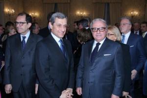 Achille Colombo Clerici con il Prefetto Alessandro Marangoni