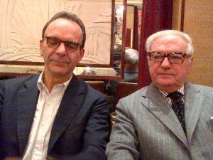 Achille Colombo Clerici con Stefano Parisi