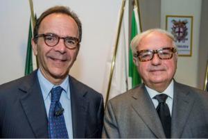 Stefano Parisi e Achille Colombo Clerici