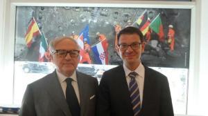 Achille Colombo Clerici con Fèlix Baumann