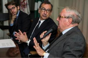 Achille Colombo Clerici con Giuseppe Sala