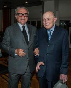 Achille Colombo Clerici con Ing. Pirola