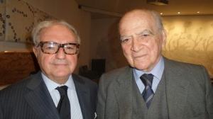 Achille Colombo Clerici con Piero Bassetti