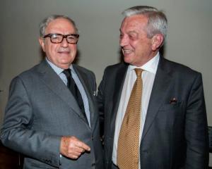 Achille Colombo Clerici con Walter Patscheider