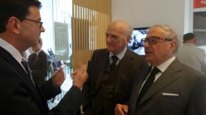 Fèlix Baumann, Piero Bassetti, Achille Colombo Clerici