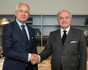 Giuliano Molossi e Achille Colombo Clerici