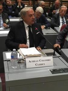 Achille Colombo Clerici alla Camera dei Deputati 2