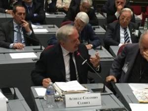 Achille Colombo Clerici alla Camera dei Deputati
