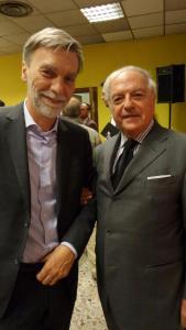 Colombo Clerici con Graziano Delrio