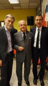 Graziano Delrio, Achille Colombo Clerici, Giuseppe Sala