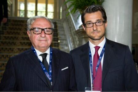 Achille Colombo Clerici con Stefano Simontacchi