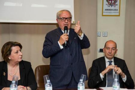 Marcella Caradonna, Achille Colombo Clerici, Giorgio Spaziani Testa