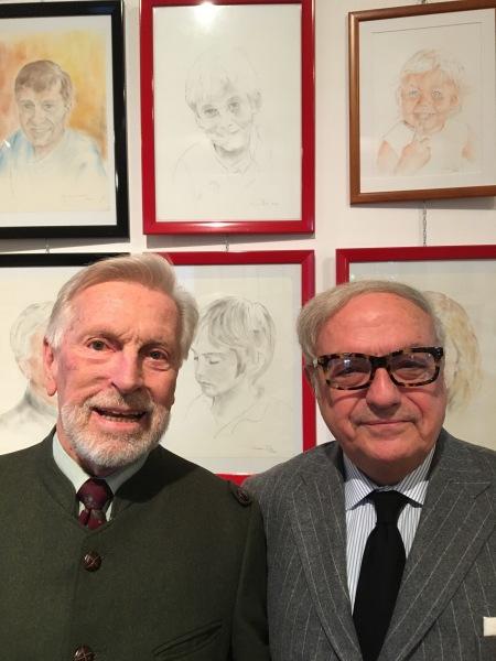 Paolo Lazzaroni Andina con il pres. IEA Achille Colombo Clerici