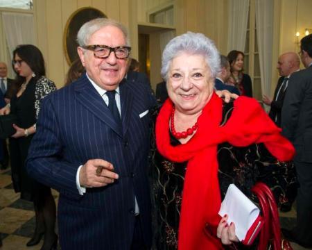 Livia Pomodoro con Achille Colombo Clerici
