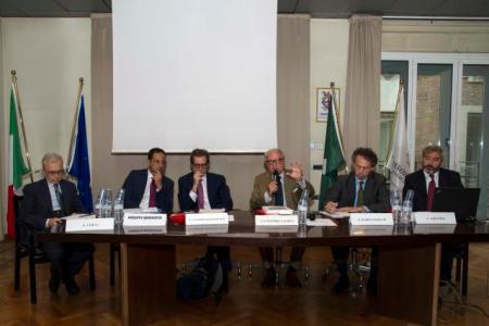 Gianni Verga, Giuseppe Abruzzese, Guido Iannoni Sebastianini, Achille Colombo Clerici, Eugenio Radice Fossati, Vincenzo Albanese