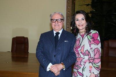Achille Colombo Clerici con Patrizia Signorini
