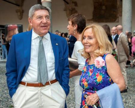 Pierfranco Faletti e Giovanna Colombo Clerici